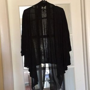 ALYX woman sheer wrap (with arm holes) size 1X